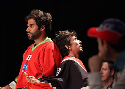 match impro la cigale france maroc