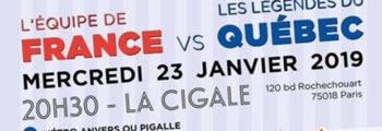 23 janvier 2019 – Match d'Impro France vs Québec – La Cigale
